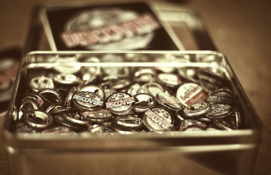 Buttons Sepia